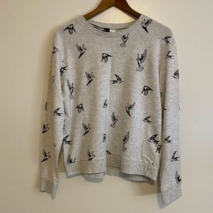 Divided pull over